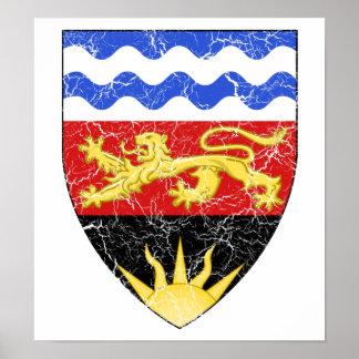 Malawi Coat Of Arms Print