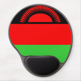 Malawi country long flag nation symbol republic gel mouse pad
