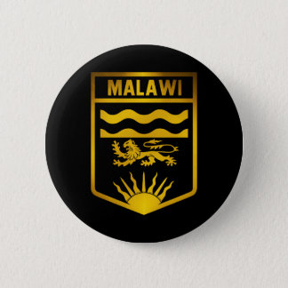 Malawi Emblem 6 Cm Round Badge