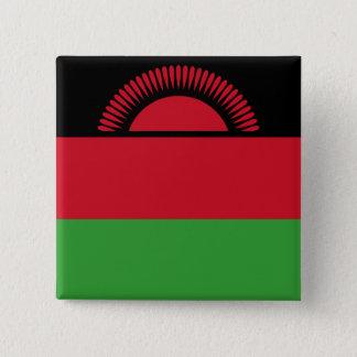 Malawi Flag 15 Cm Square Badge