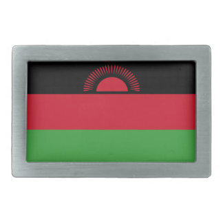 Malawi Flag Belt Buckles