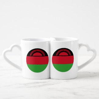 Malawi Flag Coffee Mug Set