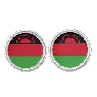 Malawi Flag Cuff Links