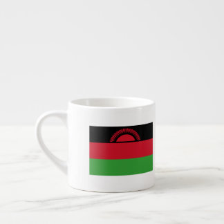 Malawi Flag Espresso Cup