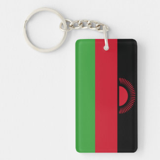 Malawi Flag Key Ring
