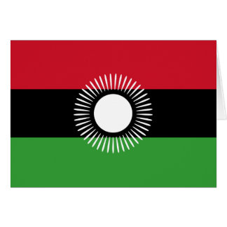 Malawi Flag Note Card