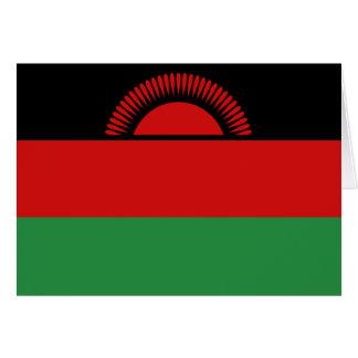 Malawi Flag Notecard Cards