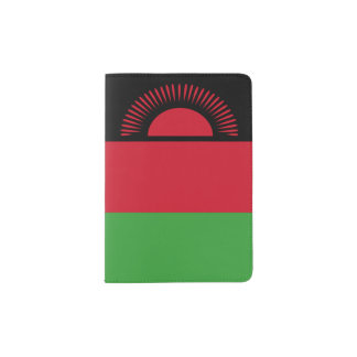 Malawi Flag Passport Holder