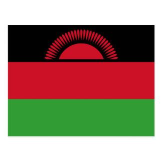 Malawi Flag Postcard