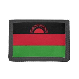 Malawi Flag Tri-fold Wallet