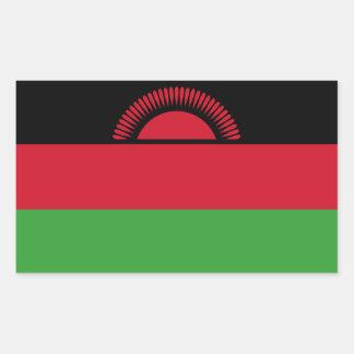 Malawi/Malawian Flag Rectangular Sticker