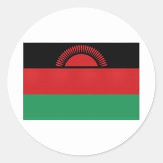 Malawi National Flag Classic Round Sticker