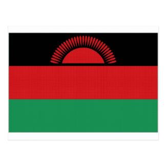 Malawi National Flag Postcard