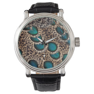 Malay Peacock-pheasant feathers Watch