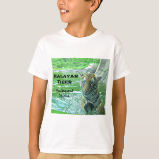 Malayan Tiger - Endangered Species T-Shirt