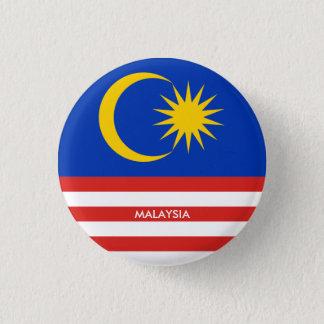 malaysia 3 cm round badge