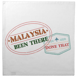 Malaysia Been There Done That Napkin