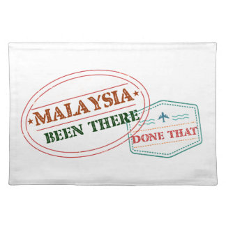 Malaysia Been There Done That Placemat