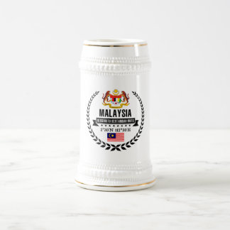 Malaysia Beer Stein