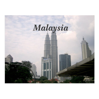 Malaysia Cityscape Postcard