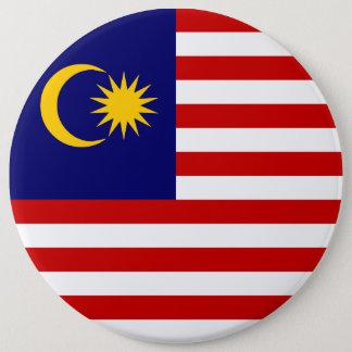 Malaysia Flag 6 Cm Round Badge