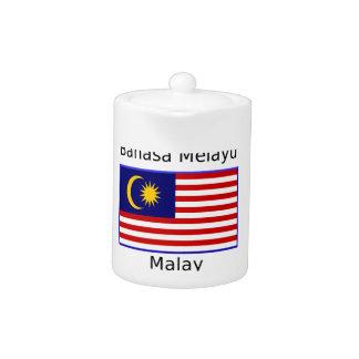 Malaysia Flag And Malay Language Design