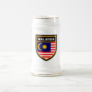 Malaysia Flag Beer Stein