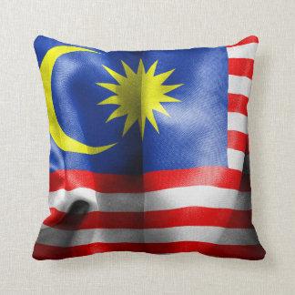Malaysia Flag Throw Cushions