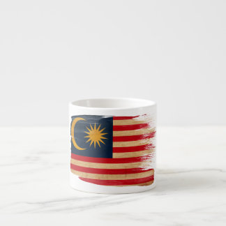 Malaysia Flag Espresso Cup