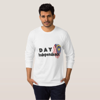 malaysia independence Long Sleeve T-Shirt