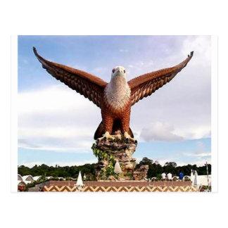 Malaysia Langkawi Island Eagle_e.jpg Postcard