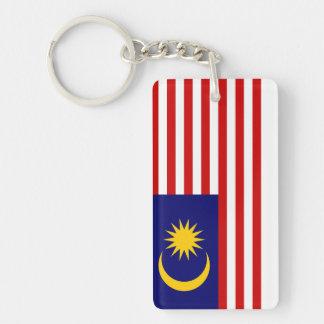 Malaysia National World Flag Key Ring