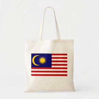Malaysia National World Flag Tote Bag