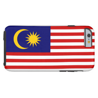 Malaysia National World Flag Tough iPhone 6 Case