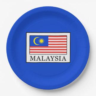 Malaysia Paper Plate