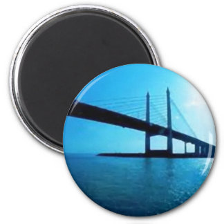 Malaysia Penang Bridge Magnet