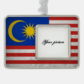 Malaysia Silver Plated Framed Ornament