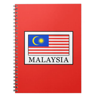 Malaysia Spiral Notebook