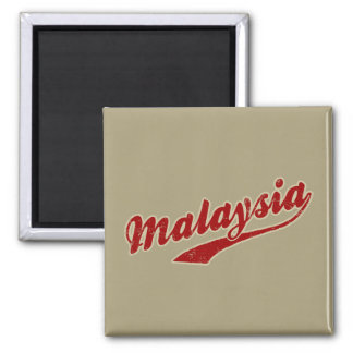 Malaysia Square Magnet