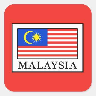 Malaysia Square Sticker