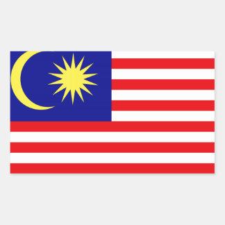 Malaysian Flag Rectangular Sticker