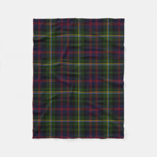 Malcolm Clan Tartan Plaid Fleece Blanket