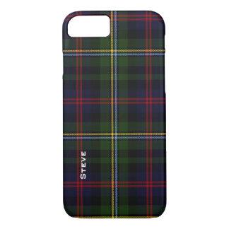 Malcolm Clan Tartan Plaid iPhone 7 Case
