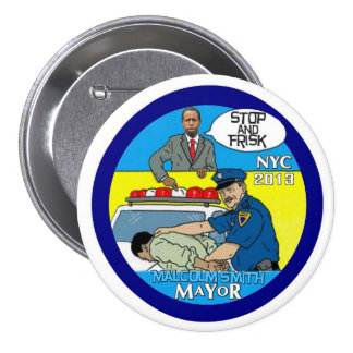 Malcolm Smith for NYC Mayor 2013 Pins