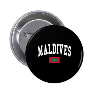 MALDIVES 6 CM ROUND BADGE
