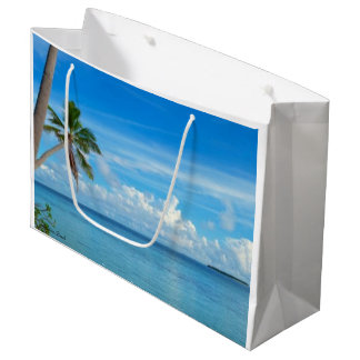 Maldives Beach Gift Bag - Large, Glossy