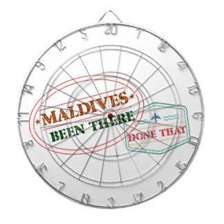 Maldives Been There Done That Dartboard