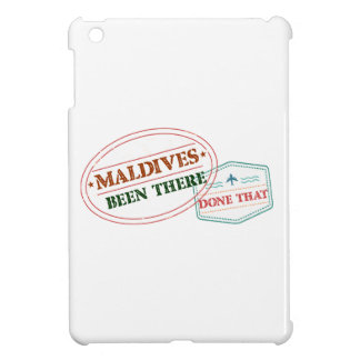 Maldives Been There Done That iPad Mini Case