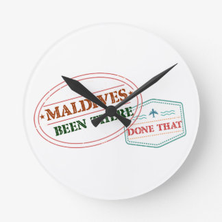 Maldives Been There Done That Round Clock