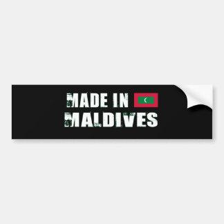MALDIVES BUMPER STICKER